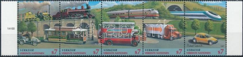 1997 Közlekedés ívszéli ötöscsík Mi 231-235