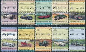 1985-1986 Cars 2 diff set 1985-1986 2 klf autó sor
