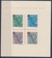 Baden 1949 Vöröskereszt blokk Mi 2
