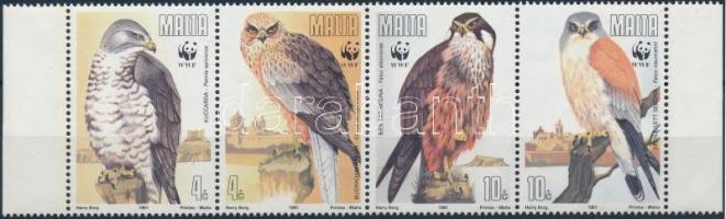 1991 WWF: Sasok négyescsík Mi 864-867