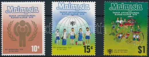 1979 Nemzetközi Gyermekév sor Mi 199-201