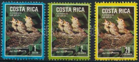 International Children Year - Birds set, Nemzetközi Gyermekév - Madár sor