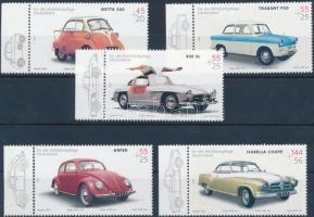 2002 Oldtimer autók (I) sor Mi 2289-2293