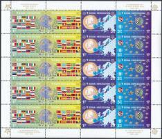 50 éves az Europa CEPT bélyeg kisív Europa CEPT minisheet