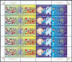 2005 50 éves az Europa CEPT bélyeg kisív Mi 419 A-422 A