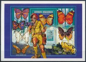 Scouting, mushrooms and butterflies block, Cserkész, gomba és lepke blokk