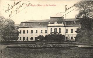 Gyula, Gróf Almásy Dénes kastélya, kiadja Seefehlner J. L.
