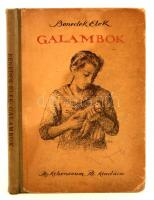 Benedek Elek: Galambok. Budapest, 1922, Athenaeum Irodalmi és Nyomdai Rt. Negyedik kiadás. Kiadói kopottas félvászon kötés.