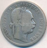Ausztria 1879. 1Fl Ag Ferenc József T:3  Austria 1879. 1 Florin Ag Franz Joseph C:F  Krause KM#2222