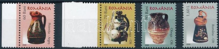 Roman pottery set, Román kerámiák sor