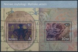 2006 NORDEN: Északi mítoszok blokk Mi 30