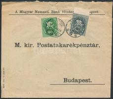 1946 (13. díjszabás) Helyi levél Lovasfutár 50eP + 200eP bérmentesítéssel (boríték szétnyitva)