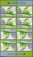 Europa CEPT, Environmental Awareness stamp booklet, Europa CEPT, Környezettudatosság bélyegfüzet