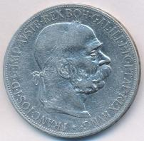 Ausztria 1900. 5K Ag Ferenc József T:2-,3  Austria 1900. 5 Corona Ag Franz Joseph C:VF,F Krause KM#2807