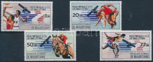 1983 Nyári Olimpiai, Los Angeles sor Mi 801-804