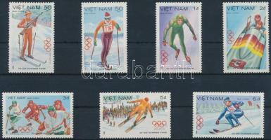 1984 Téli olimpia, Szarajevó sor Mi 1402-1408