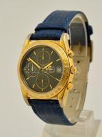 Breil cronograph igényes quartz óra, bőr szíjjal / Breil Cronograph quartz watch.