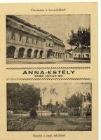 1932 Esztergom, Anna Estély, Városháza, tiszti üdülő