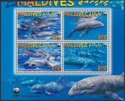2009 WWF: Delfin sor négyestömbben Mi 4768-4771