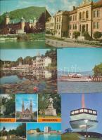 75 db MODERN magyar városképes lap / 75 modern Hungarian town-view postcards