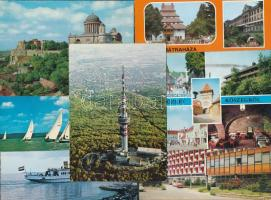 135 db MODERN magyar városképes lap / 135 modern Hungarian town-view postcards