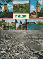 53 db MODERN használatlan keletnémet városképes lap / 53 modern unused Eastern-German town-view postcards