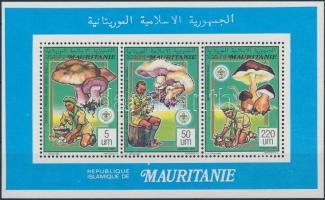 1991 Cserkészmozgalom, gombák kisív Mi 987-988, 991