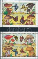 Gombák 2 db kisív, Mushrooms 2 mini sheets