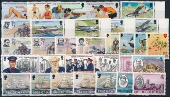 1978-1986 31 klf bélyeg, közte sorok