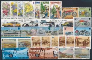 1985-1988 34 klf bélyeg. közte sorok, párok