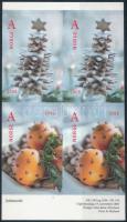 2005 Karácsony öntapadós 4-es tömb Mi 1558-1559 DI-Dr