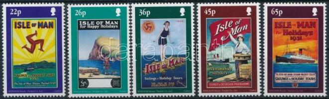 2000 Utazási plakátok sor Mi 889-893