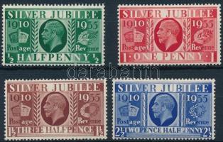 1935 Jubileum sor Mi 189-192