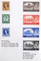Nagy-Britannia és területei 1952-1965 33 klf kiadás a Nemzetközi Telekommunikációs unió 1965-ös konferenciájára készült kiadványban (több száz EUR katalógus érték)