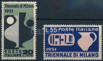 1951 Milánói triennale Mi 839-840