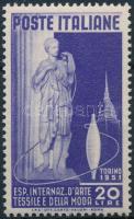 1951 Nemzetközi textilkiállítás Torino Mi 832