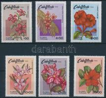 1980 Virágok sor Mi 425-430