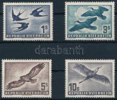 1953 Madár sor Mi 984-987