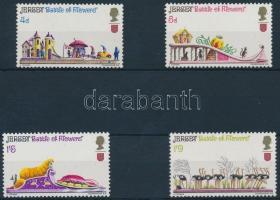 1970 Virágfesztivál sor Mi 30-33