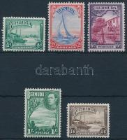 Forgalmi 5 érték Definitive 5 stamps
