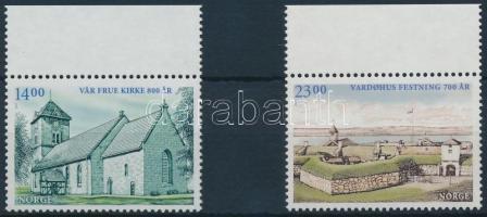 2007 Építészet sor Mi 1617-1618