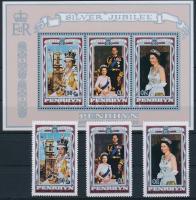 II. Erzsébet sor + blokk, Elizabeth II set + block