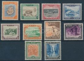 1950 Forgalmi sor Mi 75-84