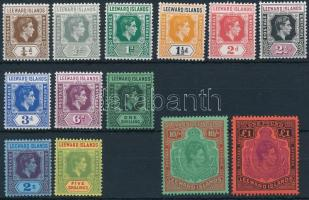 Definitive 13 stamps, Forgalmi 13 érték