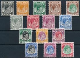 Penang 1949 Forgalmi 15 érték Mi 3-9, 11, 13-14, 16, 18-21