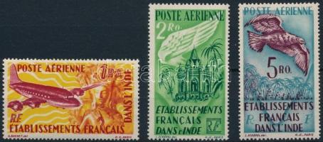 1948-1949 Definitive 3 stamps 1948-1949 Forgalmi 3 érték
