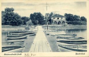 Balatonalmádi fürdő, Yacht klub
