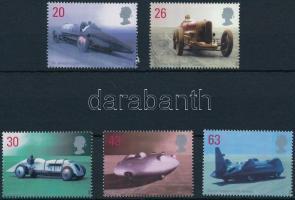 1998 Gyorsulási versenyautók sor Mi 1767-1771