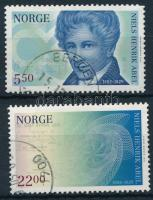 2002 200 éve született Niels Henrik Abel sor Mi 1434-1435