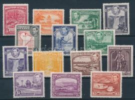 1934-1952 Forgalmi 14 érték 1934-1952 Definitive 14 values